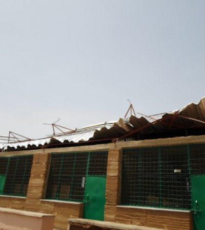 Windhoos treft landbouwschool Sirigu