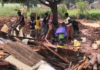 Overstromingen in het Noorden van Ghana